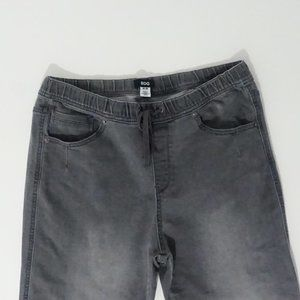 Urban Outfitters Grey Wash Crop Jogger Jeans